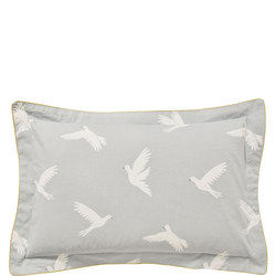 Paper Doves Oxford Pillowcase Grey