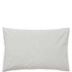Paper Doves Standard Pillowcase Grey