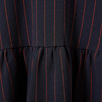 Clarkbell Pinstripe Dress Navy