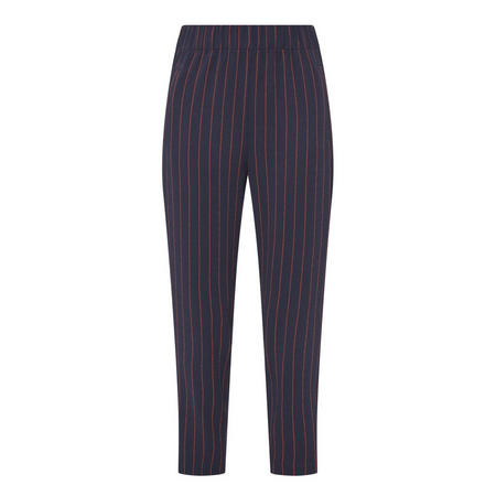 Clark Striped Trousers Navy