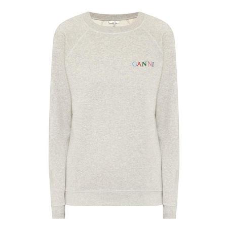 Lotti Slogan Sweatshirt Grey
