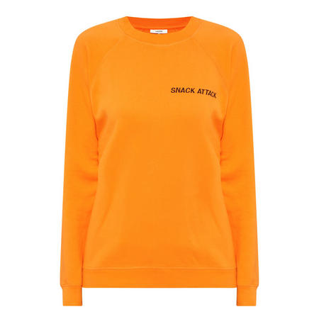 Lotti Snack Attack Sweatshirt Orange