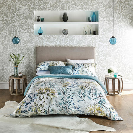 Postella Duvet Cover Blue