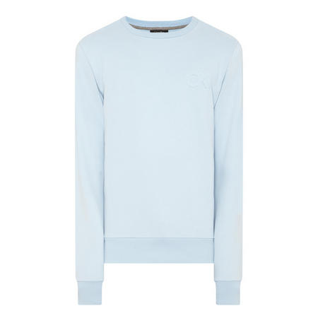 Logo Sweat Top Blue