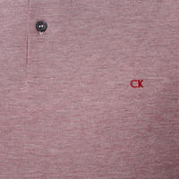 Two-Tone Logo Polo Shirt Red