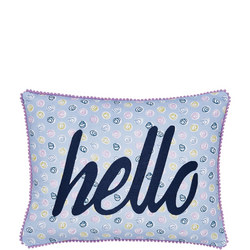 Melody Cushion Blue