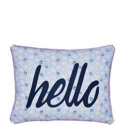 Melody Cushion Blue