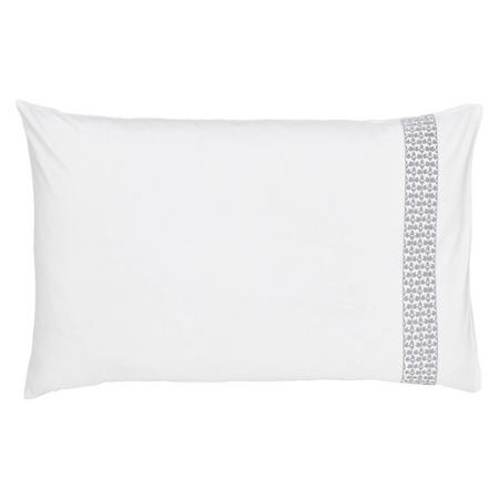 Lily Standard Pillowcase Blue
