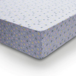 Pixie & Melody Fitted Sheet Blue