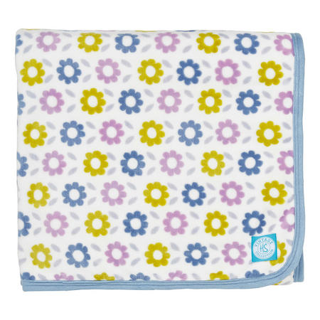 Pixie & Meldoy Fleece Throw Blue