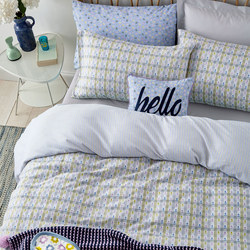 Heidi Duvet Set Blue