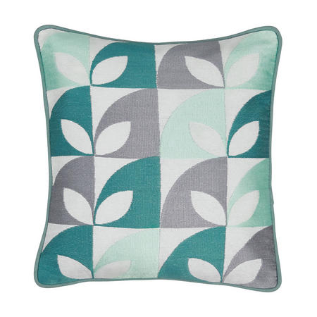 Posy Cushion Blue