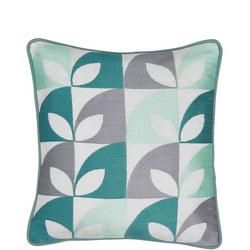 Posy Cushion Blue