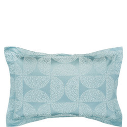 Posy Oxford Pillowcase Blue
