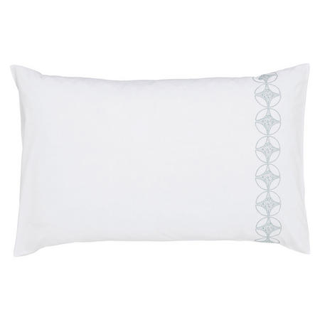 Posy Standard Pillowcase Blue