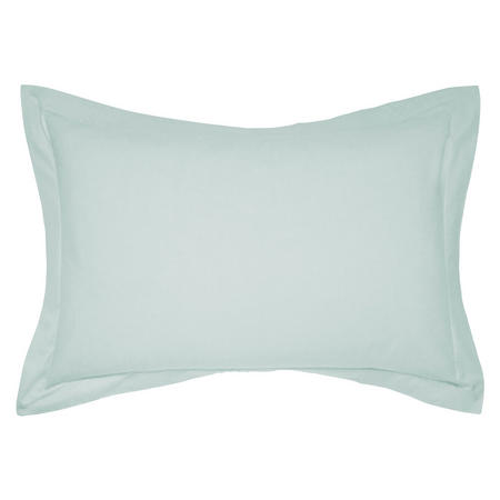 Percale Oxford Pillowcase Blue