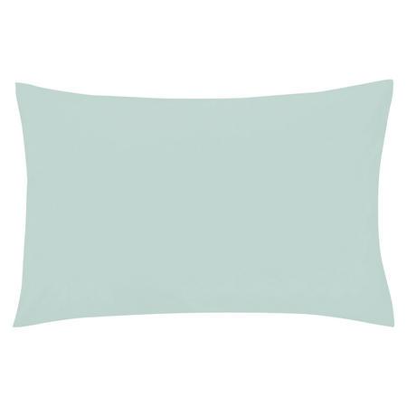 Percale Housewife Pillowcase Blue