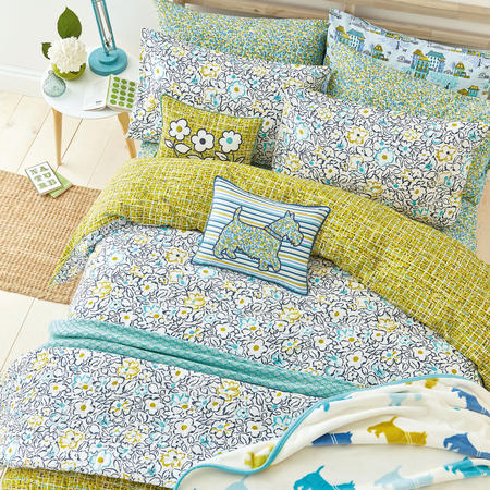 Tess Duvet Set Blue