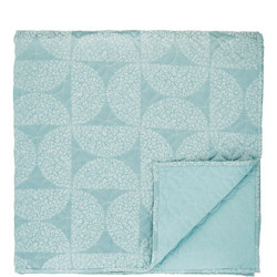 Posy Throw Blue