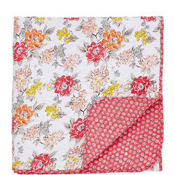 Fay Quilted Throwover Orange