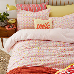 Heidi Duvet Set Orange