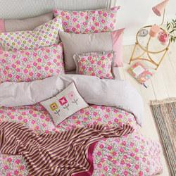 Penny Duvet Set Pink