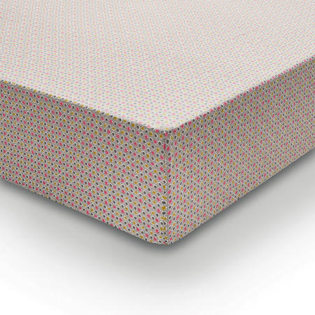 Dot & Penny Fitted Sheet Pink