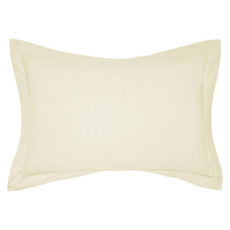 Percale Oxford Pillowcase Yellow