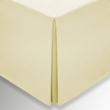 Percale Base Valance Sheet Yellow