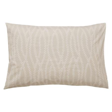 Sundial Standard Pillowcase pair Natural