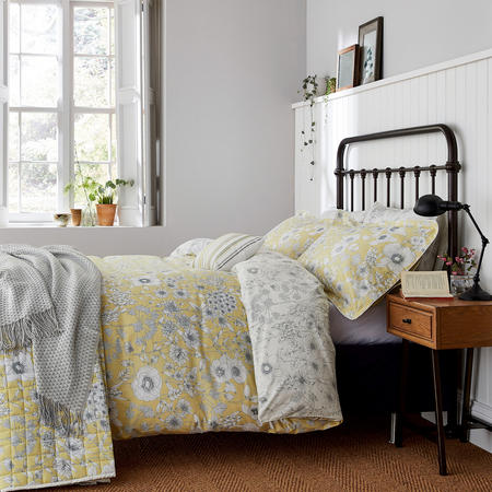 Maelee Duvet Cover Yellow