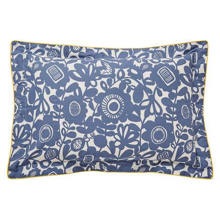 Kukkia Oxford Pillowcase Grey
