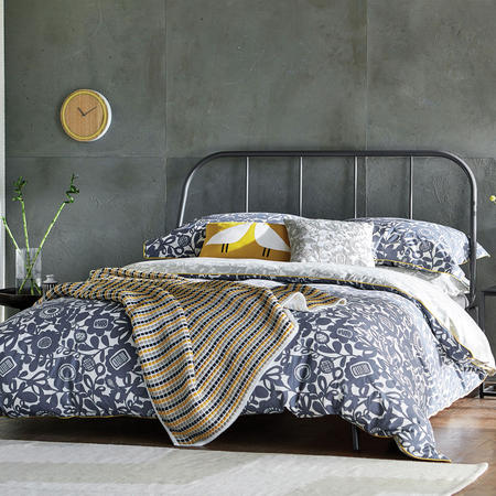 Kukkia Coordinated Bedding Grey