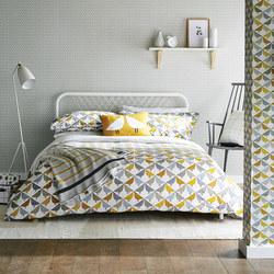 Lintu Duvet Cover Yellow