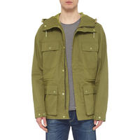 Hooded Field Jacket Green