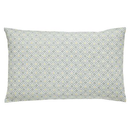 Wisterian Blossom Standard Pillowcase Pair Grey