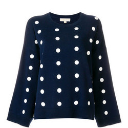 Polka Dot Oversize Sweater