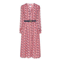 Midi Shirt Dress Multicolour