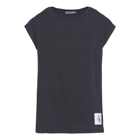 Straight Fit T-Shirt Black