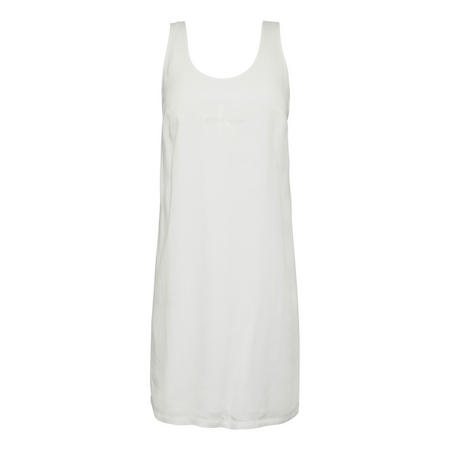 Tank Top Dress White