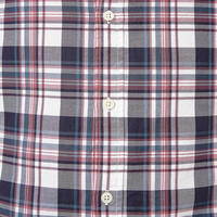 Lawrence Slim Fit Check Shirt Red