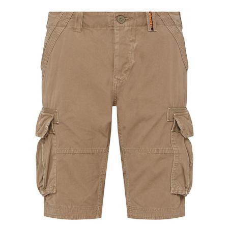 Core Cargo Shorts Beige