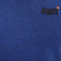 Vintage V-Neck T-Shirt Blue