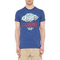 Reworked Classic Cali T-Shirt Blue