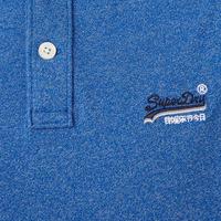 Classic Pique Polo Shirt Blue