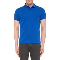 Classic Piqué Polo Shirt Blue