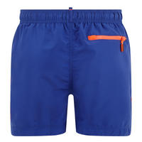 Beach Drawstring Swim Shorts Blue