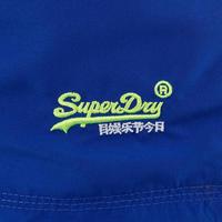 Number Logo Swim Shorts Blue