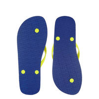Sleek Flip Flops Blue