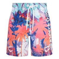 Premium Neo Print Swim Shorts